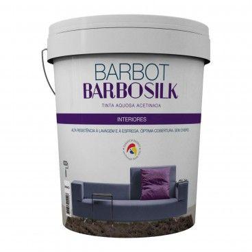 Tinta Aquosa Acetinada Barbosilk