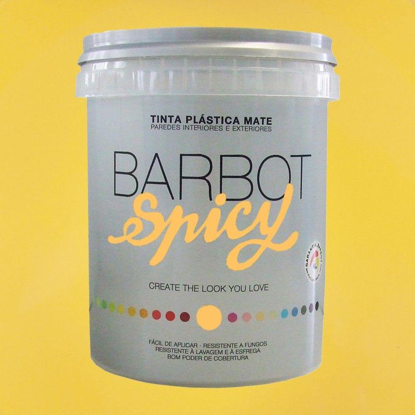 Tinta Plástica Barbot Spicy