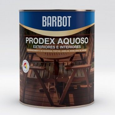 Verniz Barbot Prodex Aquoso Incolor Interior