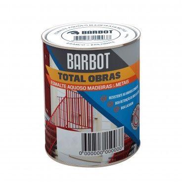Esmalte Aquoso Brilhante Barbot Total Obras