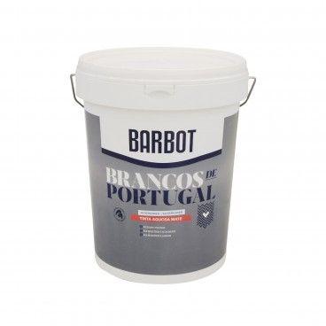 Tinta Plástica Barbot Brancos de Portugal Branco Puro