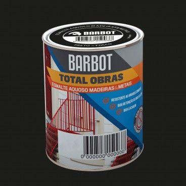 Esmalte Aquoso Fosco Barbot Total Obras