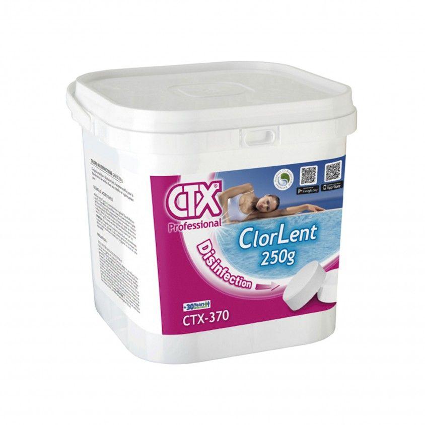 Tricloro Pastilhas 250g CTX-370 ClorLent 5kg