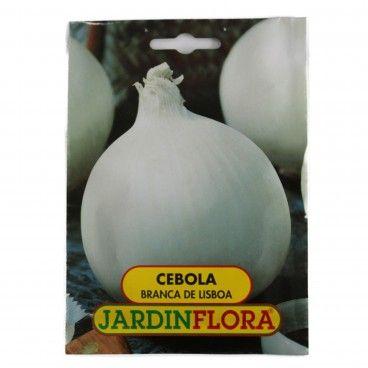 Sementes de Cebola Branca de Lisboa