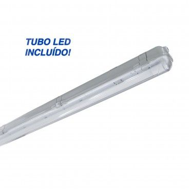 Armadura Estanque T8 Led 60cm 1x9W