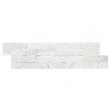 Quartzito Puro Branco 15x55