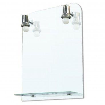 Espelho de Casa de Banho Lima com Prateleira