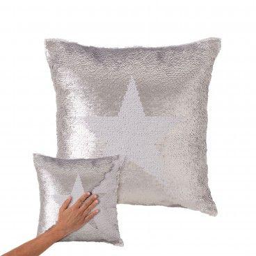 Almofada Lantejoulas Star