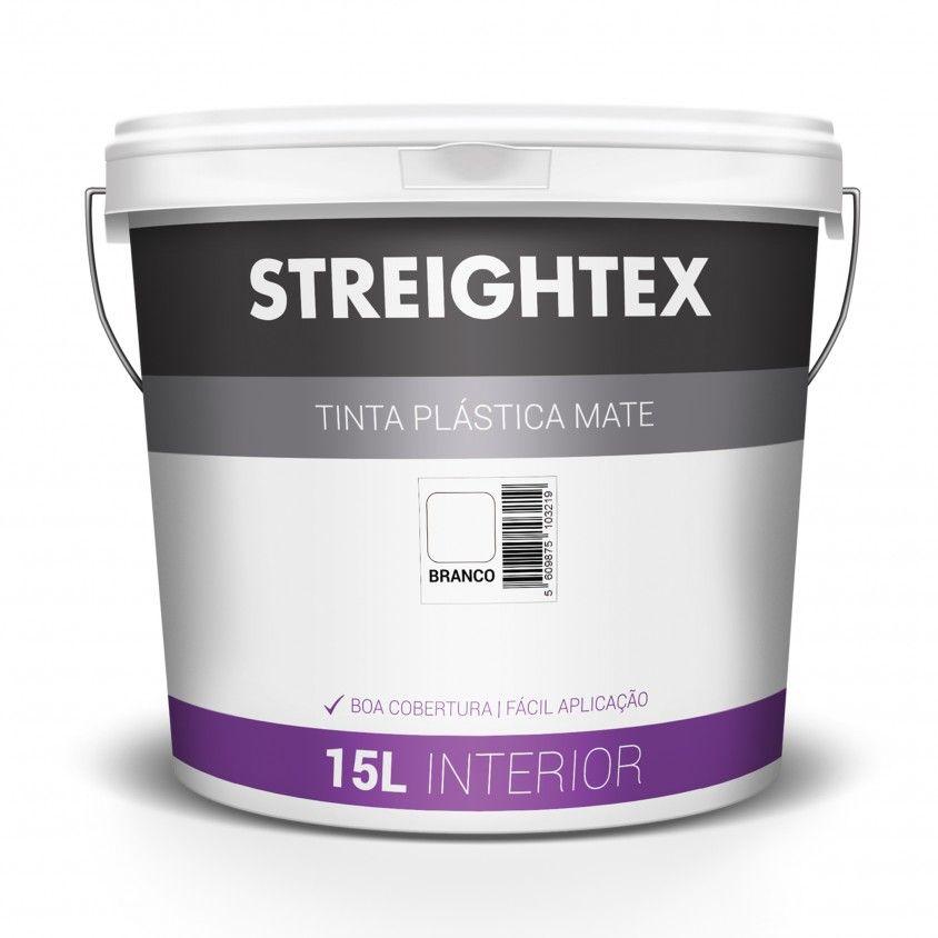 Tinta Plástica Interior Mate Streightex
