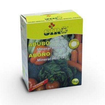 Adubo Granulado Mineral para Horta Siro