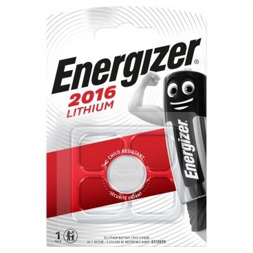 Pilha Energizer CR2016 Lithium