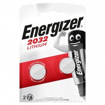 Pilha Energizer CR2032 Lithium 2un