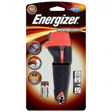 Lanterna Led Energizer Impact Rubber 2AAA