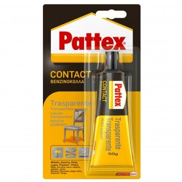 Cola de Contacto Pattex Transparente 50g