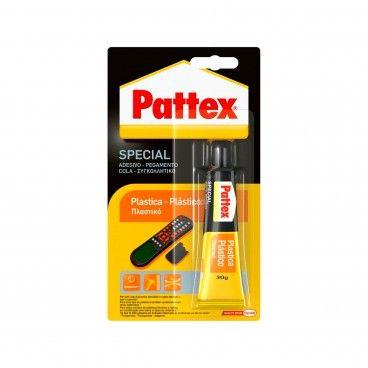 Cola Pattex Especial Plástico 30g