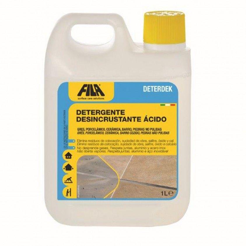 Detergente Desincustrante Ácido Fila Deterdek