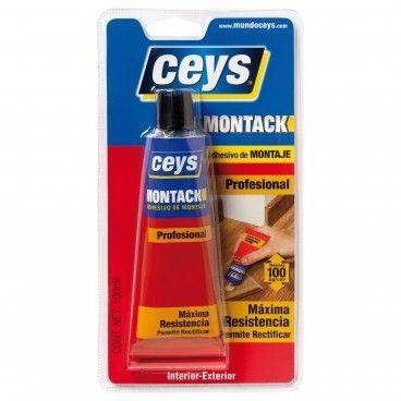 Cola de Montagem Ceys Montack sem Pregos e Parafusos 100ml