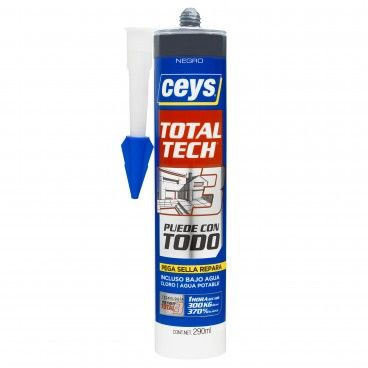 Cola e Veda Ceys Ms Total Tech Preto 290ml