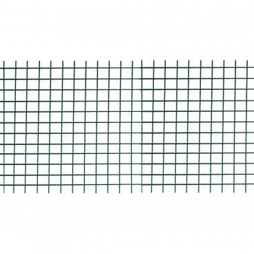 Rede Metálica Eletrossoldada Plastificada Malha 12.7x12.7mm
