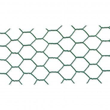 Rede para Galinheiros de Tripla Torção Plastificada Malha 19x0.7/1.0mm