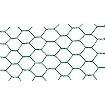 Rede para Galinheiros de Tripla Torção Plastificada Malha 41x0.8/1.0mm