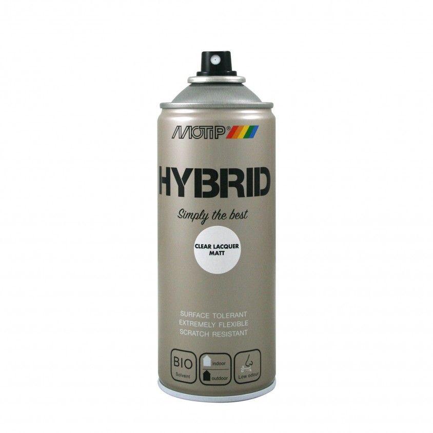 Spray Hybrid Verniz Motip 400ml