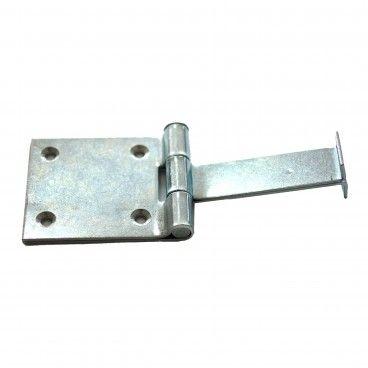 Chumbador em Ferro Polido com Furos Ref.61
