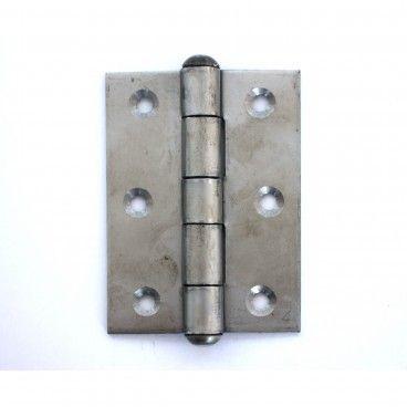 Dobradiça de Fiel em Aço Inox Ref.85