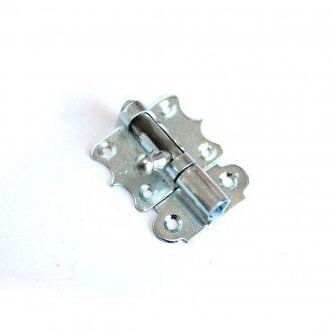 Fecho Borboleta em Ferro Zincado Ref.1