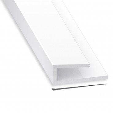 Perfil de Acabamento PVC 14x6x10x3.5mm
