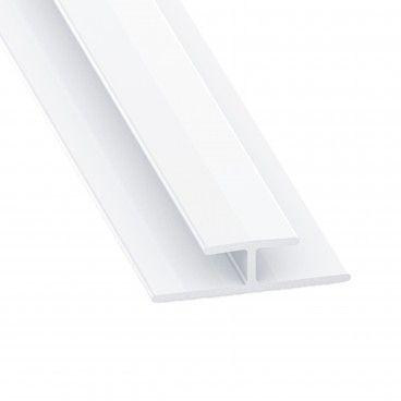Perfil de PVC de União de H 1m