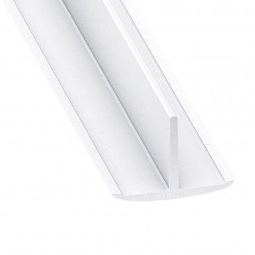 Perfil T em PVC 25x18mm