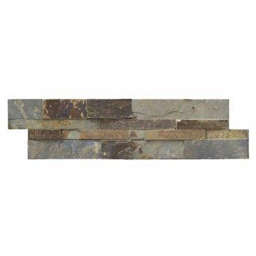 Pedra Natural Multicolor II Rústico 15x55