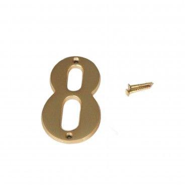 Número para Porta 8