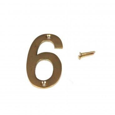 Número para Porta 6