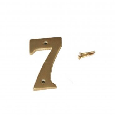 Número para Porta 7