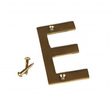 Letra para Porta E