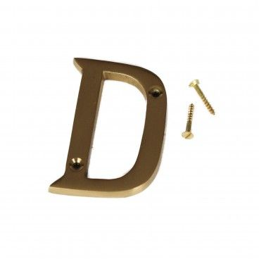 Letra para Porta D