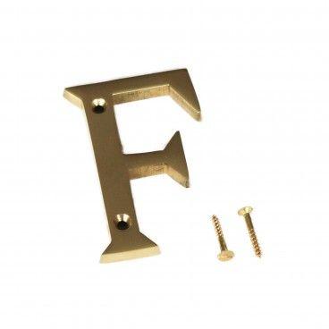 Letra para Porta F