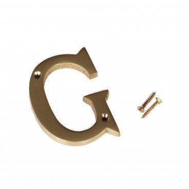 Letra para Porta G