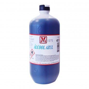 Álcool Desnaturado Azul 90%