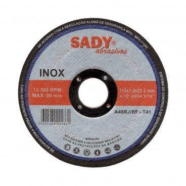 Disco de Cortar de Inox 115mm