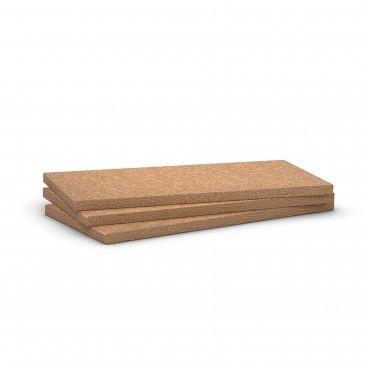 Painel Lã de Rocha Não Revestido 70kg/m2 Rockwool Alpharock E-225