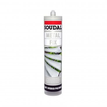 Cola para Metal Soudal Metal Fix 290ml