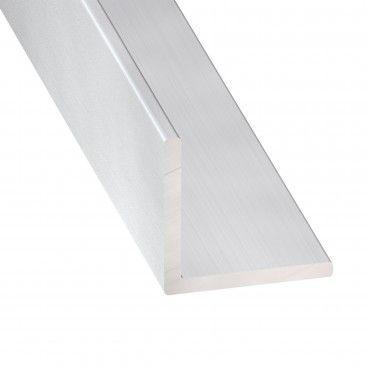 Cantoneira de Alumínio Anodizado Incolor 1m