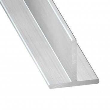Perfil de Alumínio Bruto T 1m