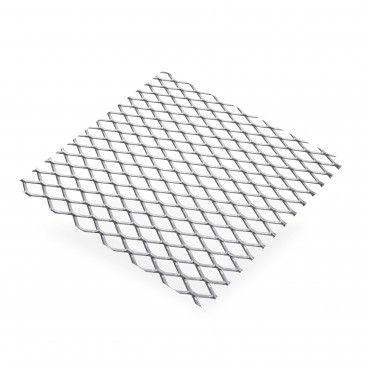 Chapa de Alumínio Bruto em Grade 10x5,5mm