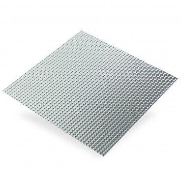 Chapa de Alumínio Bruto Ponte Diamante 0,5mm