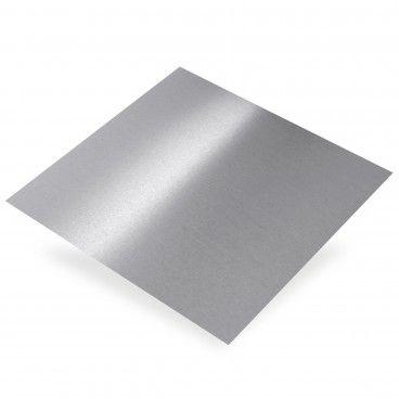 Chapa de Alumínio Bruto Liso Brilhante 0,5mm