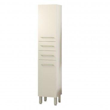 Coluna de Casa de Banho Teckno (2 Portas + 2 Gavetas)
